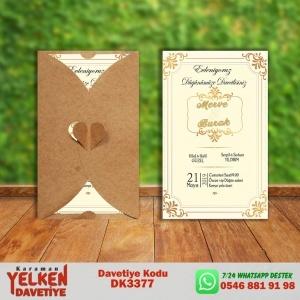 1000 Adet Kalpli Dikey Kraft Zarf Modeller
